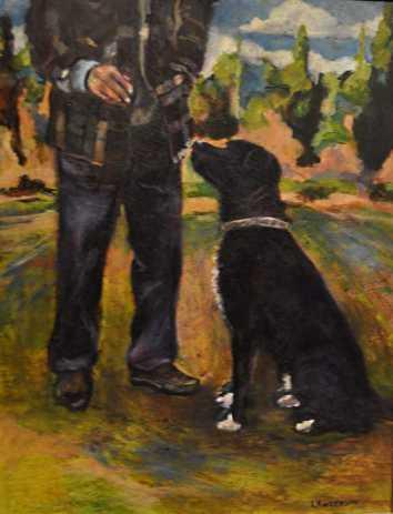 Oscar Oil Painting